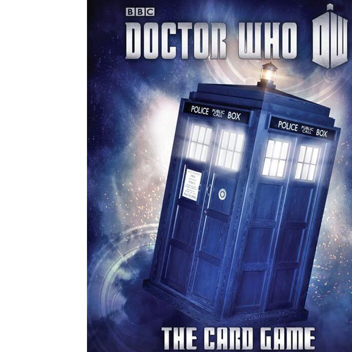 Copertina di Doctor Who: The Card Game