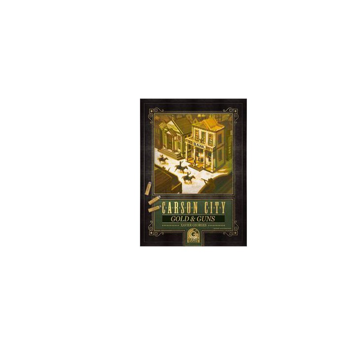 Copertina di Carson City: Gold & Guns