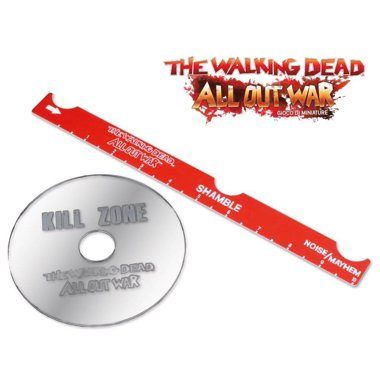 Copertina di The Walking Dead All Out War: Set Accessori Vaganti