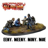 The Walking Dead All Out War: Eeny Meeny Miny Moe