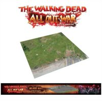 The Walking Dead All Out War: Deluxe Mat Atlanta Accampamento