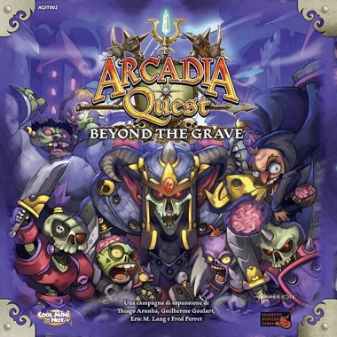 Copertina di Arcadia Quest: Beyond the Grave