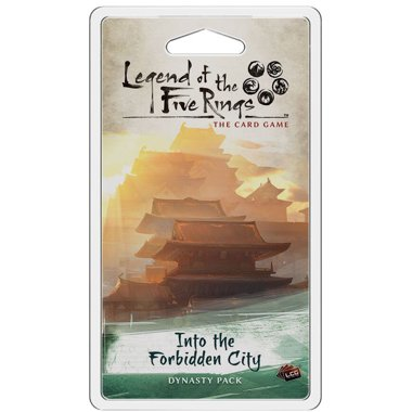 Copertina di Legend of the Five Rings - LCG: Into the Forbidden City