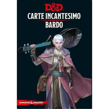 Copertina di Dungeons & Dragons: Carte Incantesimo - Bardo