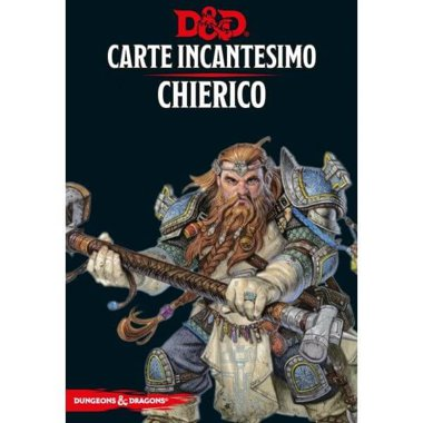 Copertina di Dungeons & Dragons: Carte Incantesimo - Chierico