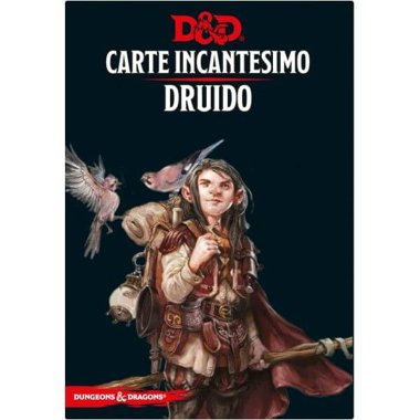 Copertina di Dungeons & Dragons: Carte Incantesimo - Druido