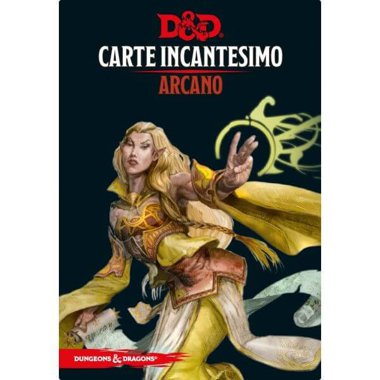 Copertina di Dungeons & Dragons: Carte Incantesimo - Arcano