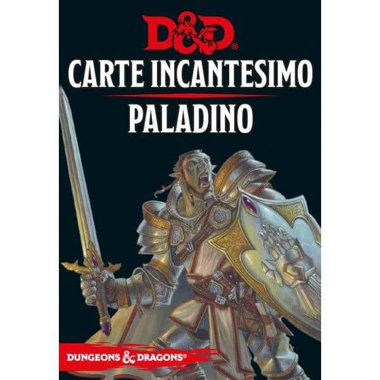 Copertina di Dungeons & Dragons: Carte Incantesimo - Paladino