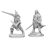 Pathfinder: Deep Cuts Miniatures - Human Male Fighter