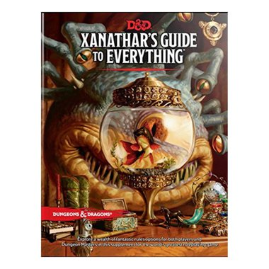 Copertina di Dungeons & Dragons Edizione Inglese: Xanathar's Guide to Everything