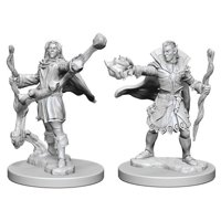 Pathfinder: Deep Cuts Miniatures - Elf Male Sorcerer