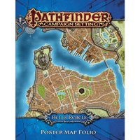 Pathfinder: Hell's Rebels Poster Map Folio