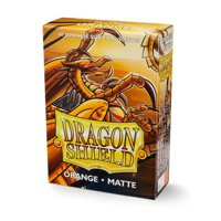Bustine Japanese Dragon Shield Matte 60 (ARANCIONE)