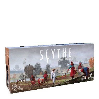Copertina di Scythe: Invaders from Afar