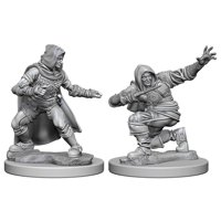 Pathfinder: Deep Cuts Miniatures - Human Male Rogue