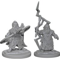 Pathfinder: Deep Cuts Miniatures - Dwarf Male Sorcerer