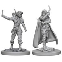 Pathfinder: Deep Cuts Miniatures - Human Female Rogue