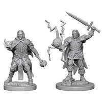 Pathfinder: Deep Cuts Miniatures - Human Male Cleric