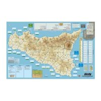 FAB - Sicily: Mounted Map