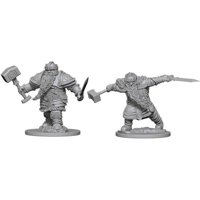 D&D: Nolzur's Marvelous Miniatures - Dwarf Male Fighter