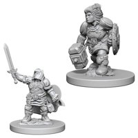 D&D: Nolzur's Marvelous Miniatures - Dwarf Female Paladin