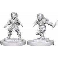 D&D: Nolzur's Marvelous Miniatures - Halfling Female Rogue