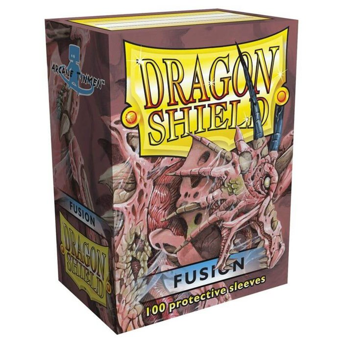 Copertina di Bustine Standard Dragon Shield 100 (FUSION)
