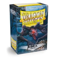 Bustine Standard Dragon Shield Matte 100 (NERO)