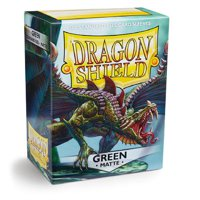 Bustine Standard Dragon Shield Matte 100 (VERDE)