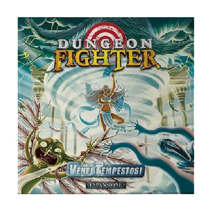 Copertina di Dungeon Fighter: Venti Tempestosi