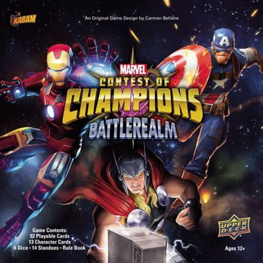 Copertina di Contest of Champions: Battlerealm