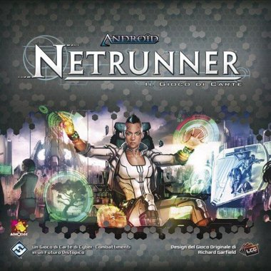 Copertina di Android Netrunner - LCG: Revised