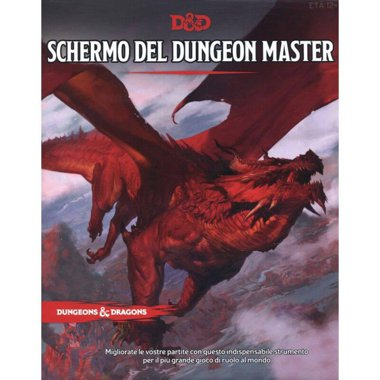 Copertina di Dungeons & Dragons: Schermo del Dungeon Master