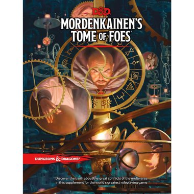 Copertina di Dungeons & Dragons Edizione Inglese: Mordenkainen's Tome of Foes