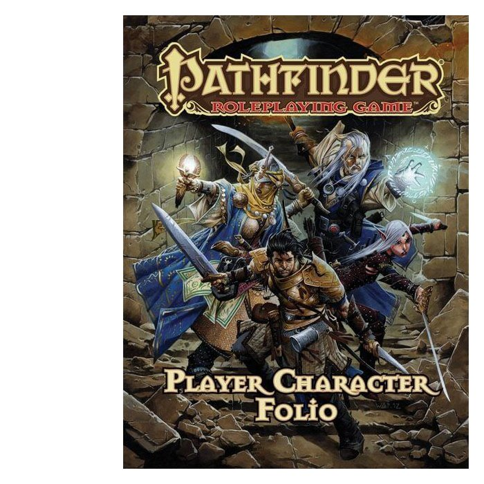 Copertina di Pathfinder: Player Character Folio