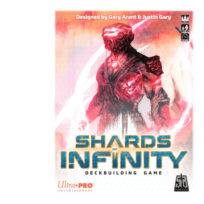 Copertina di Shards of Infinity