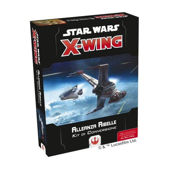 Copertina di Star Wars X-Wing 2E: Kit Conversione - Alleanza Ribelle