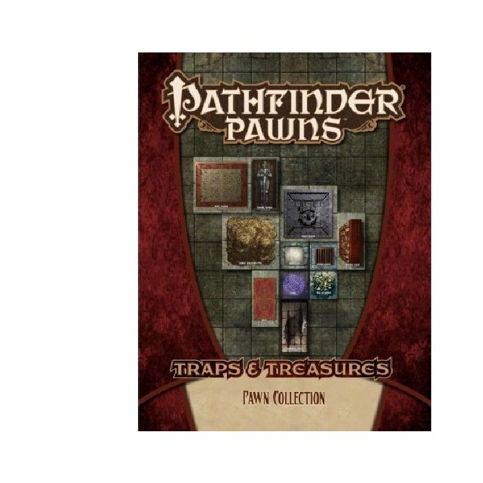 Copertina di Pathfinder Pawns: Traps & Treasures Pawn Collection