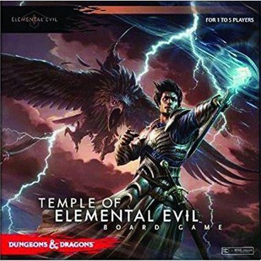 Copertina di Dungeons & Dragons: Temple of Elemental Evil
