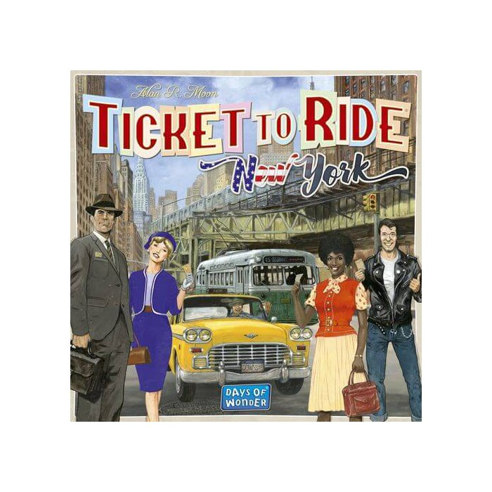 Copertina di Ticket to Ride: New York