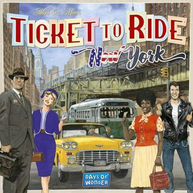 Copertina di Ticket to Ride - New York