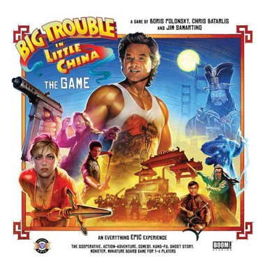 Copertina di Big Trouble in Little China