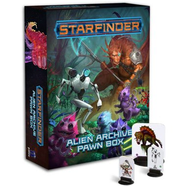 Copertina di Starfinder Pawns: Alien Archive Box