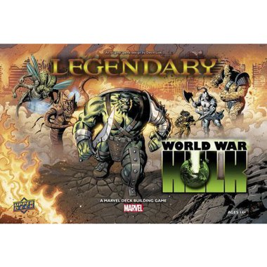 Copertina di Legendary: Marvel - World War Hulk