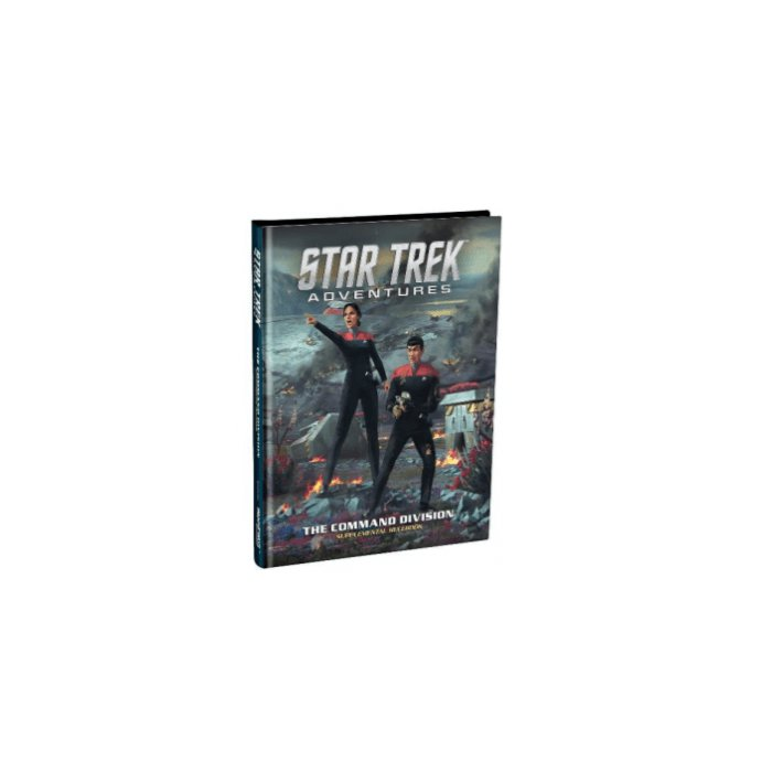 Copertina di Star Trek Adventures: The Command Division