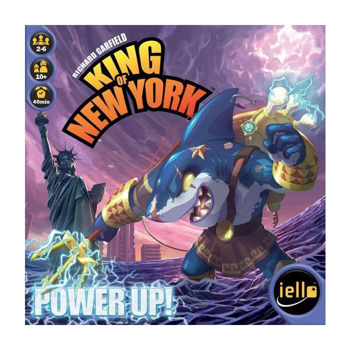 Copertina di King of New York: Power Up!
