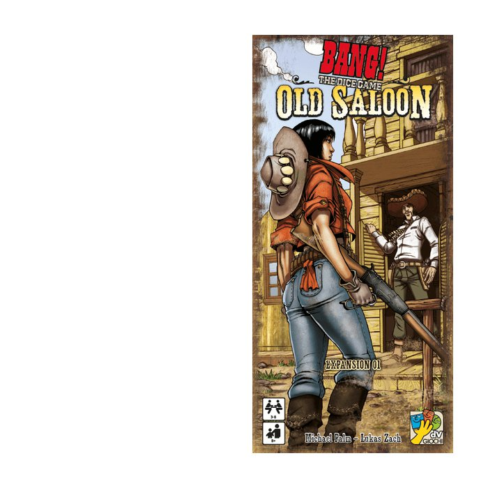 Copertina di Bang! - The Dice Game: Old Saloon