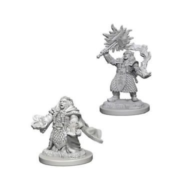 Copertina di D&D: Nolzur's Marvelous Miniatures - Dwarf Female Cleric