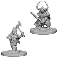 D&D: Nolzur's Marvelous Miniatures - Dwarf Female Barbarian