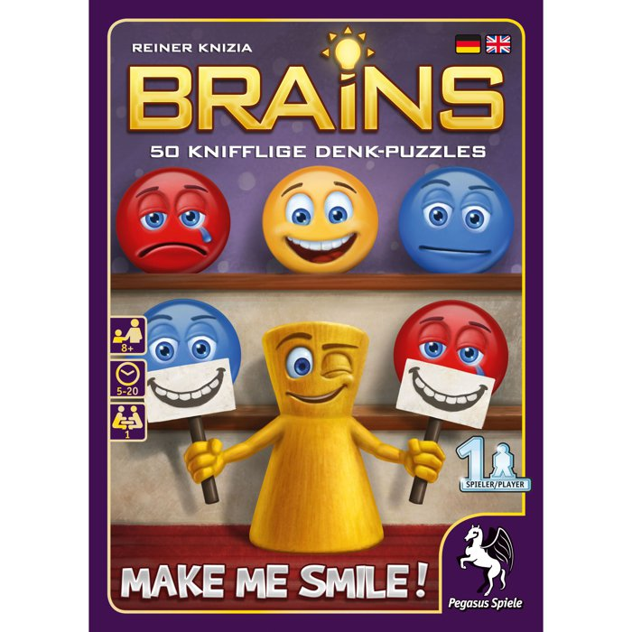 Copertina di Brains: Make me Smile!